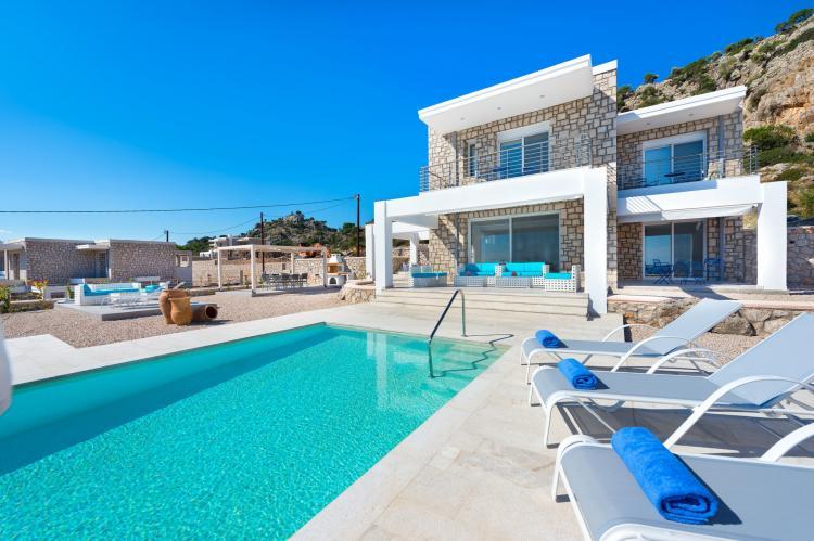 VakantiehuisGriekenland - Rhodos: Villa Horizontes  [1]