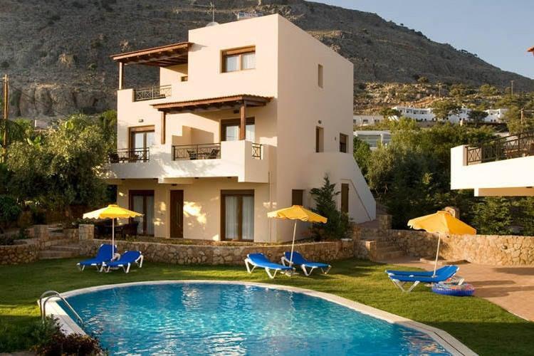 VakantiehuisGriekenland - Rhodos: Blue Dream Executive Villa  [4]