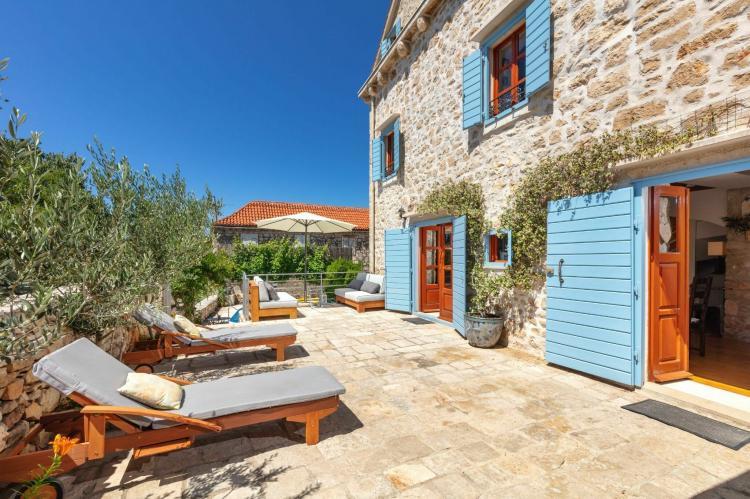 VakantiehuisKroatië - Midden Dalmatië: Villa Vicina  [6]
