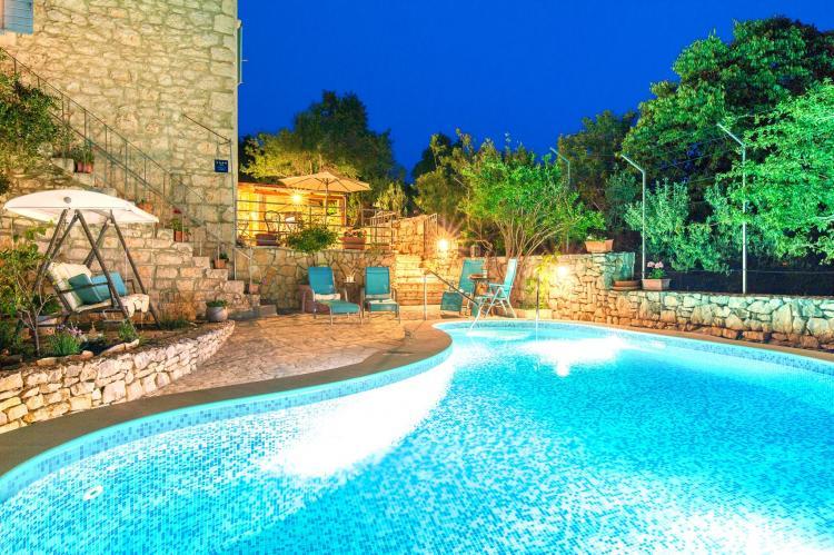 VakantiehuisKroatië - Midden Dalmatië: Villa Vicina  [9]