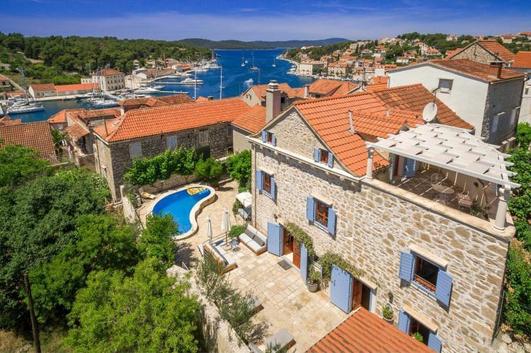 VakantiehuisKroatië - Midden Dalmatië: Villa Vicina  [2]