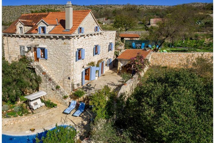VakantiehuisKroatië - Midden Dalmatië: Villa Vicina  [7]