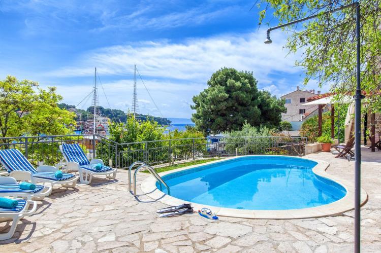 VakantiehuisKroatië - Midden Dalmatië: Villa Bonaca  [4]
