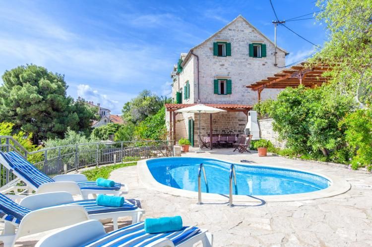 VakantiehuisKroatië - Midden Dalmatië: Villa Bonaca  [1]
