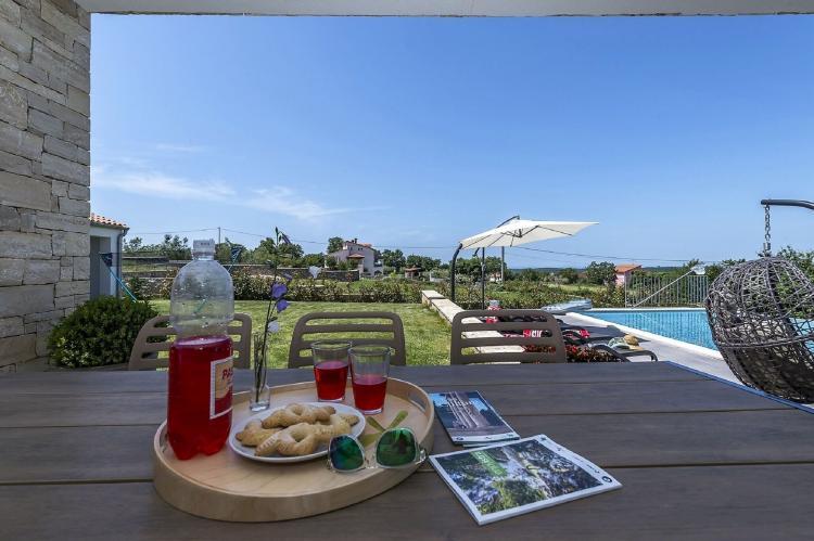 Holiday homeCroatia - Istra: Villa Meli with Infinity Pool and Whirlpool  [28]