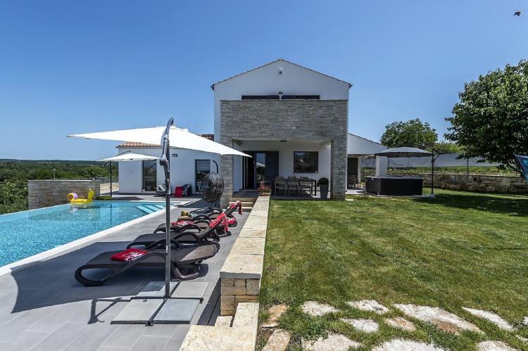 Holiday homeCroatia - Istra: Villa Meli with Infinity Pool and Whirlpool  [25]