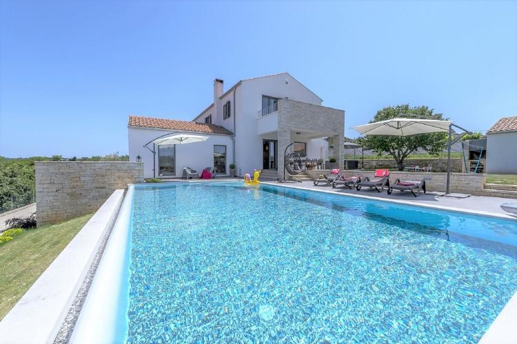 Holiday homeCroatia - Istra: Villa Meli with Infinity Pool and Whirlpool  [8]