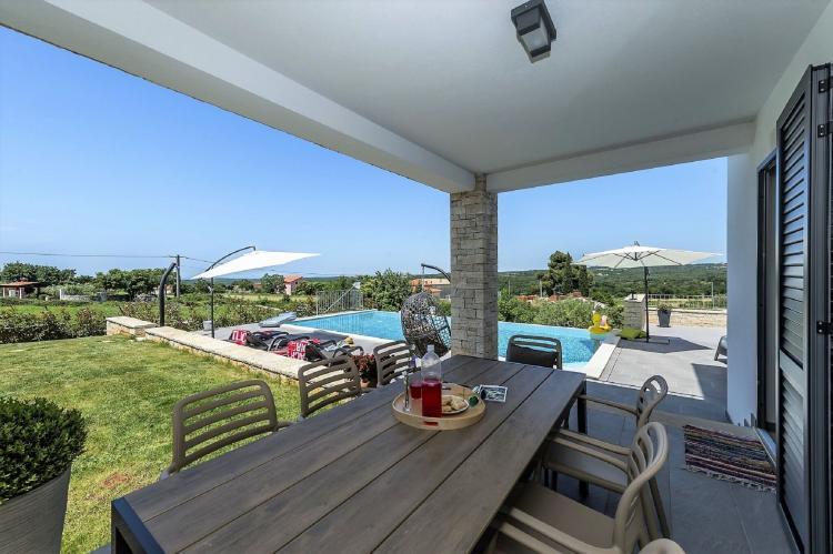 Holiday homeCroatia - Istra: Villa Meli with Infinity Pool and Whirlpool  [20]
