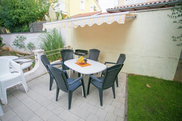Holiday homeCroatia - Istra: Apartment Kardumovic II Brown with Garden View  [17]