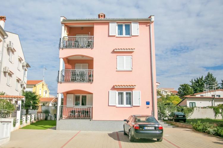 Holiday homeCroatia - Istra: Apartment Kardumovic II Brown with Garden View  [1]
