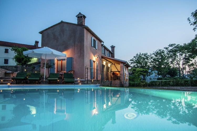Villa Jezenj in Central Istria