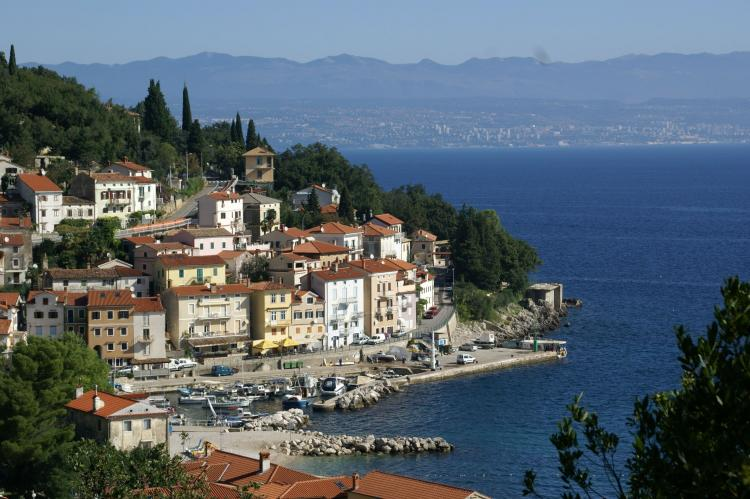 Holiday homeCroatia - Kvarner: Holiday House Queens with Sea View / Apartment Que  [32]