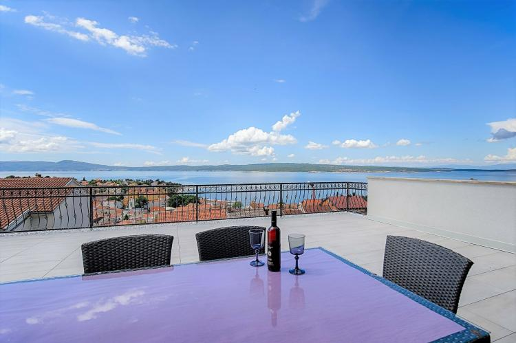 Holiday homeCroatia - Kvarner: Holiday House Queens with Sea View / Apartment Que  [1]
