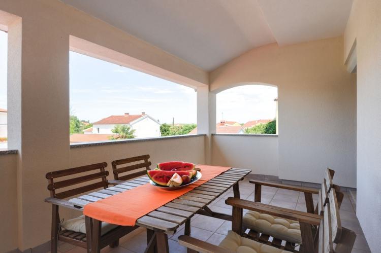 VakantiehuisKroatië - Istrië: Two-Bedroom Apartment Hope V with Balcony near Por  [5]