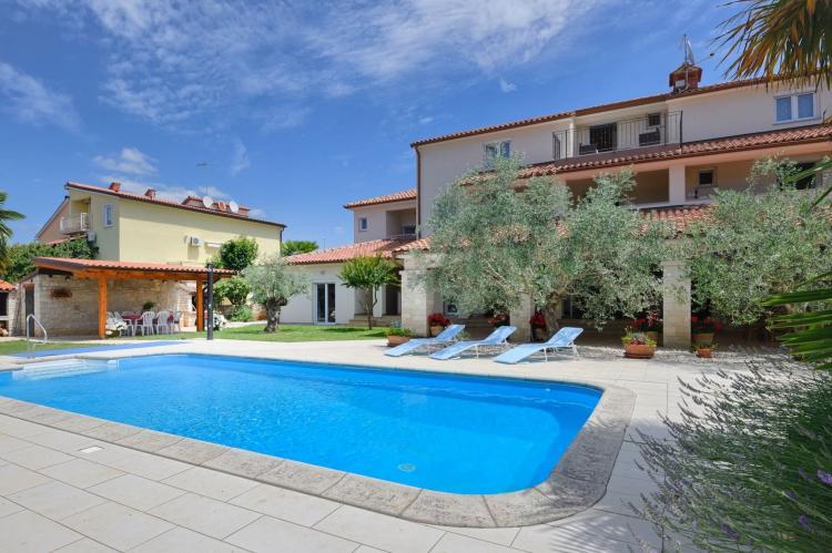 VakantiehuisKroatië - Istrië: Two-Bedroom Apartment Hope V with Balcony near Por  [9]