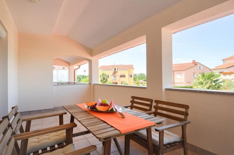 VakantiehuisKroatië - Istrië: Two-Bedroom Apartment Hope V with Balcony near Por  [14]