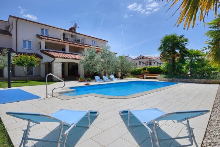 VakantiehuisKroatië - Istrië: Two-Bedroom Apartment Hope V with Balcony near Por  [7]