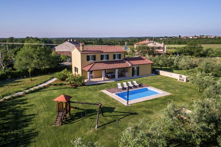 VakantiehuisKroatië - Istrië: Villa Danelon with Pool and Olive Grove View  [1]