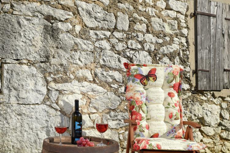 VakantiehuisKroatië - Kvarner: Beautiful Villa Petra with Summer Kitchen and Pool  [37]
