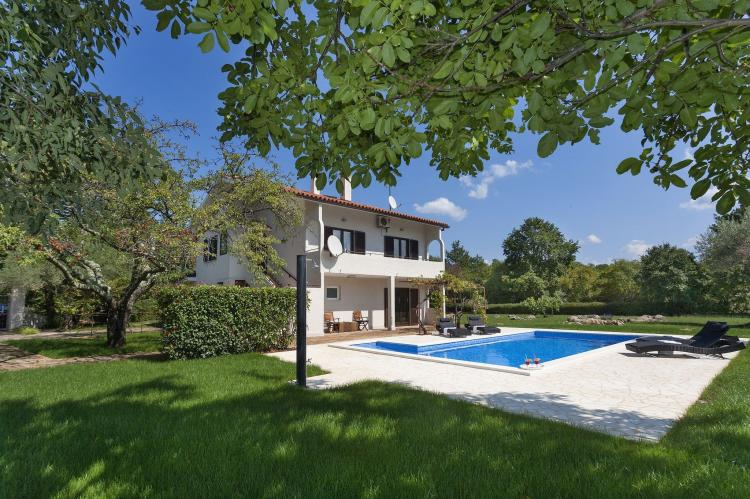 VakantiehuisKroatië - Istrië: Apartment Doris with Private Pool and large Garden  [8]