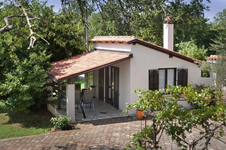 VakantiehuisKroatië - Istrië: Apartment Doris with Private Pool and large Garden  [27]