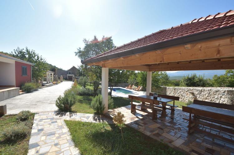 VakantiehuisKroatië - Midden Dalmatië: Villa Mirjana  [23]