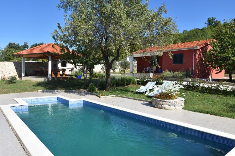 VakantiehuisKroatië - Midden Dalmatië: Villa Mirjana  [1]