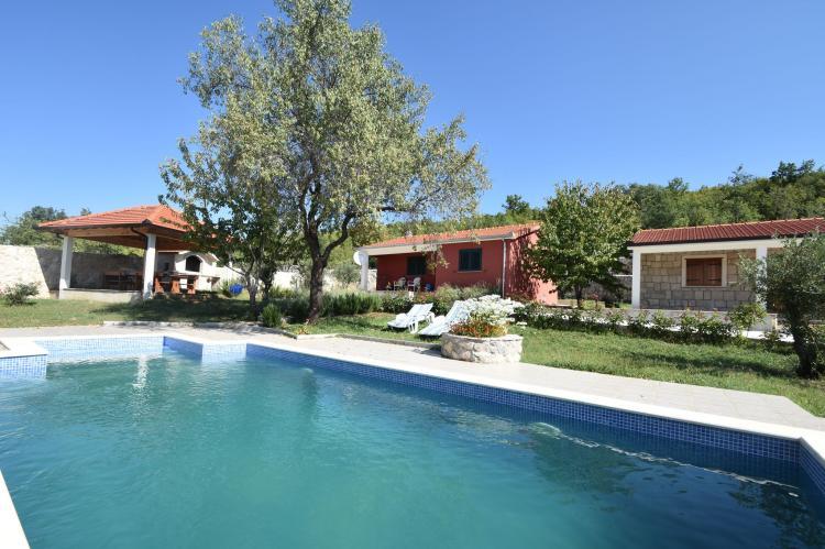 VakantiehuisKroatië - Midden Dalmatië: Villa Mirjana  [3]
