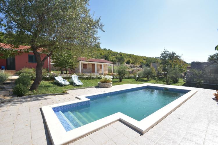 VakantiehuisKroatië - Midden Dalmatië: Villa Mirjana  [2]