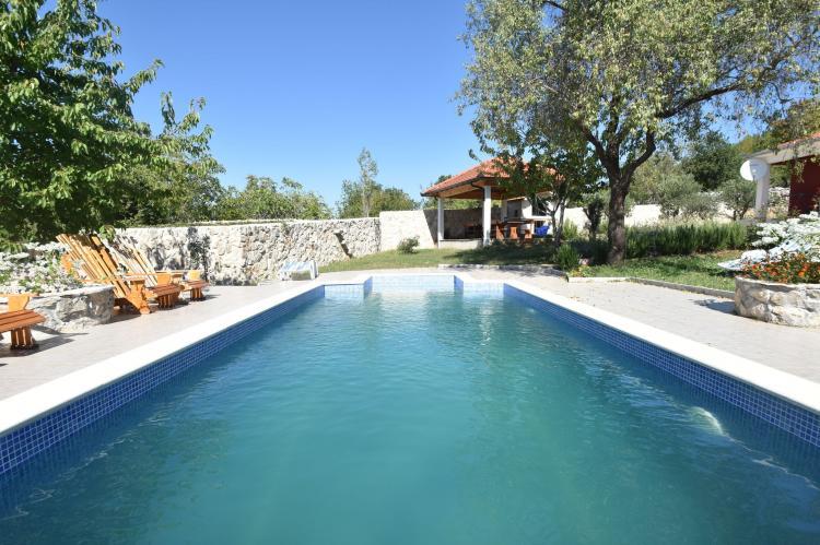 VakantiehuisKroatië - Midden Dalmatië: Villa Mirjana  [7]