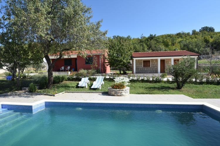 VakantiehuisKroatië - Midden Dalmatië: Villa Mirjana  [4]