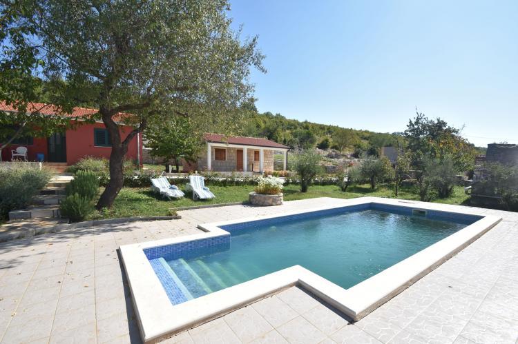 VakantiehuisKroatië - Midden Dalmatië: Villa Mirjana  [6]