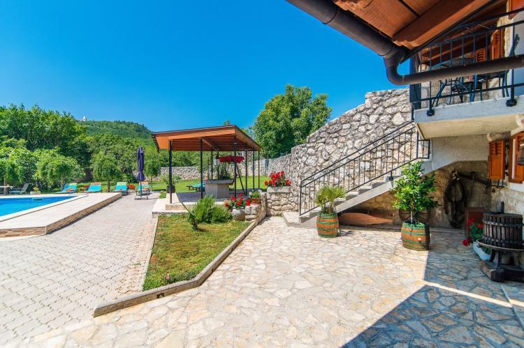 VakantiehuisKroatië - Kvarner: Villa Prelec with Private Pool  [5]
