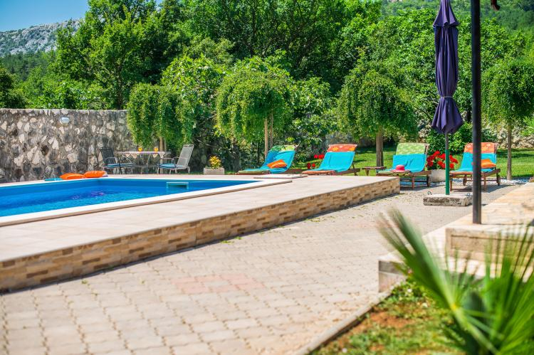 VakantiehuisKroatië - Kvarner: Villa Prelec with Private Pool  [11]