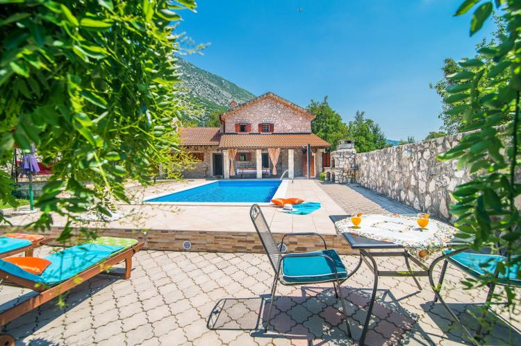 VakantiehuisKroatië - Kvarner: Villa Prelec with Private Pool  [9]