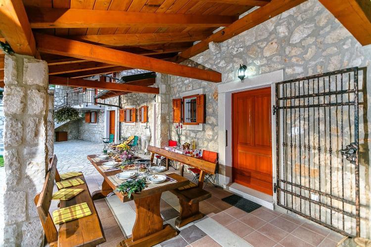 VakantiehuisKroatië - Kvarner: Villa Prelec with Private Pool  [40]