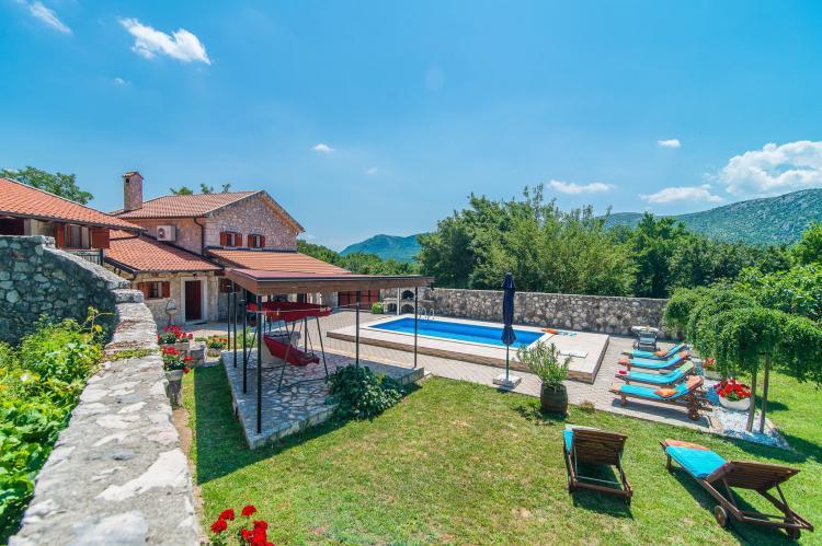 VakantiehuisKroatië - Kvarner: Villa Prelec with Private Pool  [29]