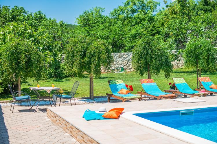 VakantiehuisKroatië - Kvarner: Villa Prelec with Private Pool  [3]