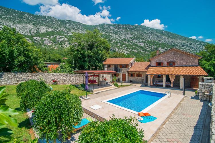 VakantiehuisKroatië - Kvarner: Villa Prelec with Private Pool  [2]