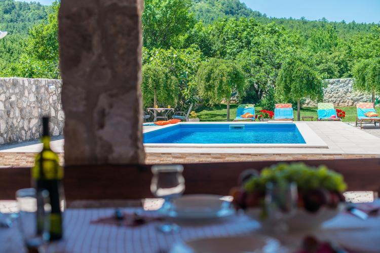 VakantiehuisKroatië - Kvarner: Villa Prelec with Private Pool  [38]