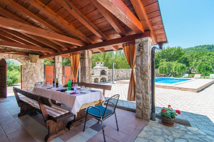 VakantiehuisKroatië - Kvarner: Villa Prelec with Private Pool  [4]