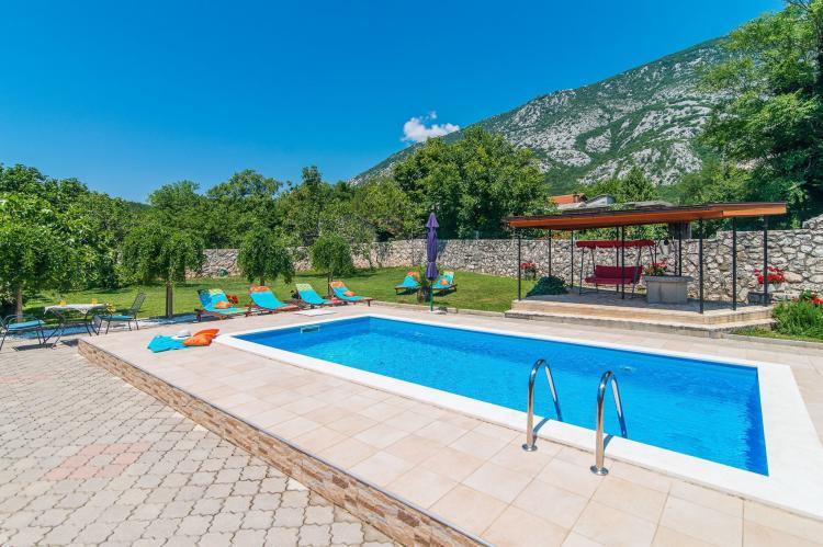 VakantiehuisKroatië - Kvarner: Villa Prelec with Private Pool  [10]