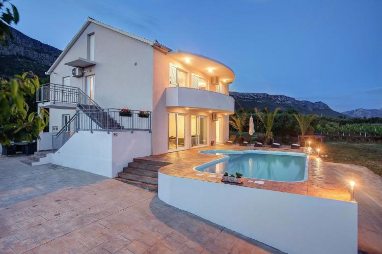 Holiday homeCroatia - Central Dalmatia: Holiday Home Franic  [1]