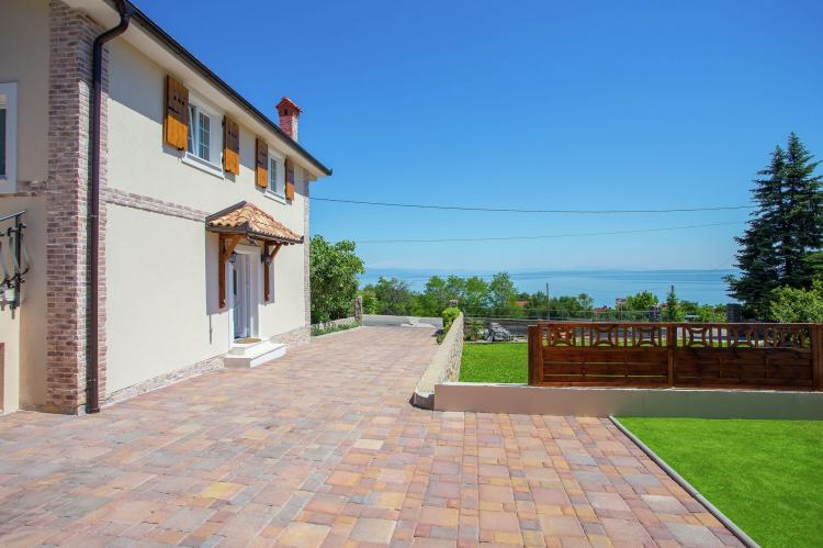 Holiday homeCroatia - Kvarner: Villa Olive with pool and sea view  [5]
