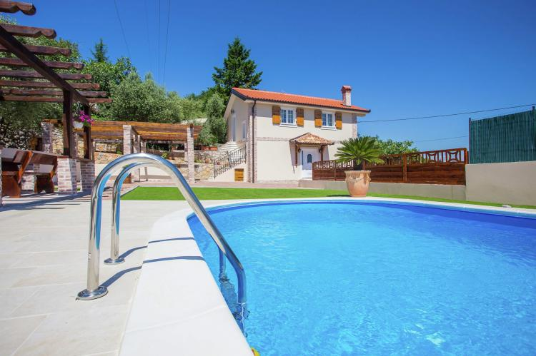 Holiday homeCroatia - Kvarner: Villa Olive with pool and sea view  [4]