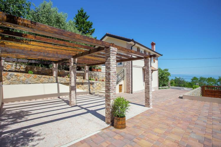 Holiday homeCroatia - Kvarner: Villa Olive with pool and sea view  [31]