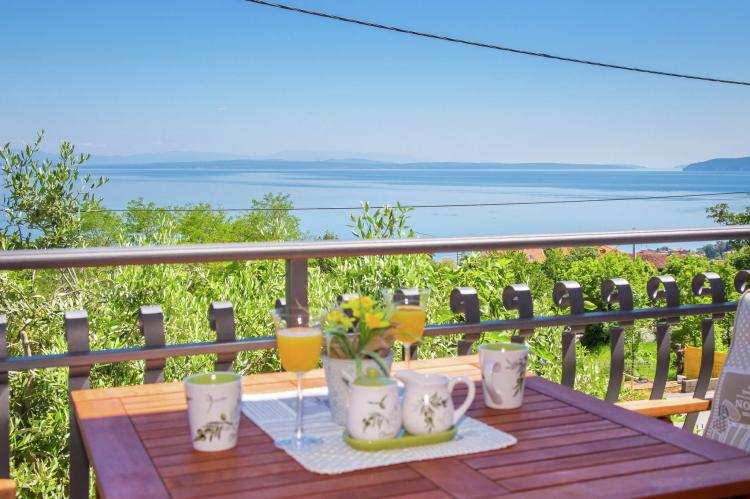 Holiday homeCroatia - Kvarner: Villa Olive with pool and sea view  [7]
