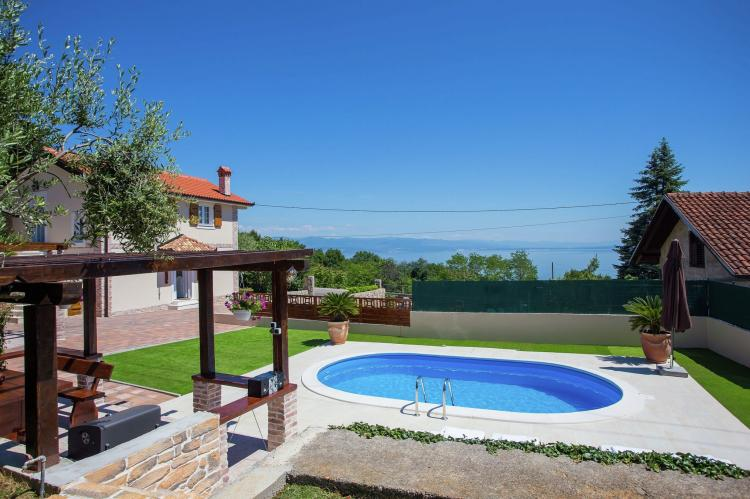Holiday homeCroatia - Kvarner: Villa Olive with pool and sea view  [3]