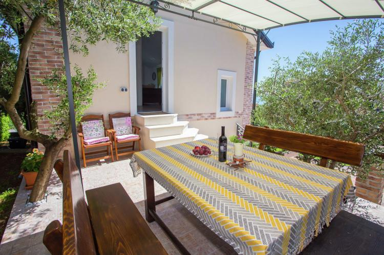 Holiday homeCroatia - Kvarner: Villa Olive with pool and sea view  [30]