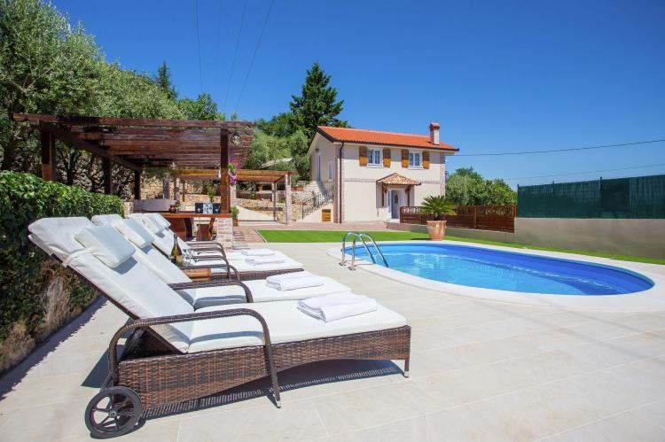 Holiday homeCroatia - Kvarner: Villa Olive with pool and sea view  [39]